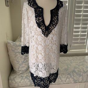 Embellished Calypso Elegant Tunic